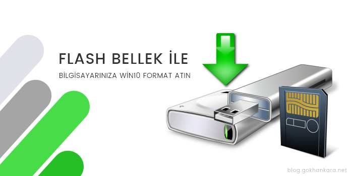 USB Flash Disk ile Format Atmak