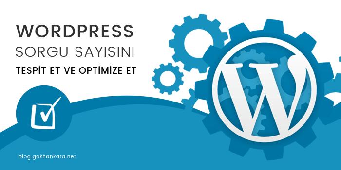 WordPress sorgu sayısını optimize etmek